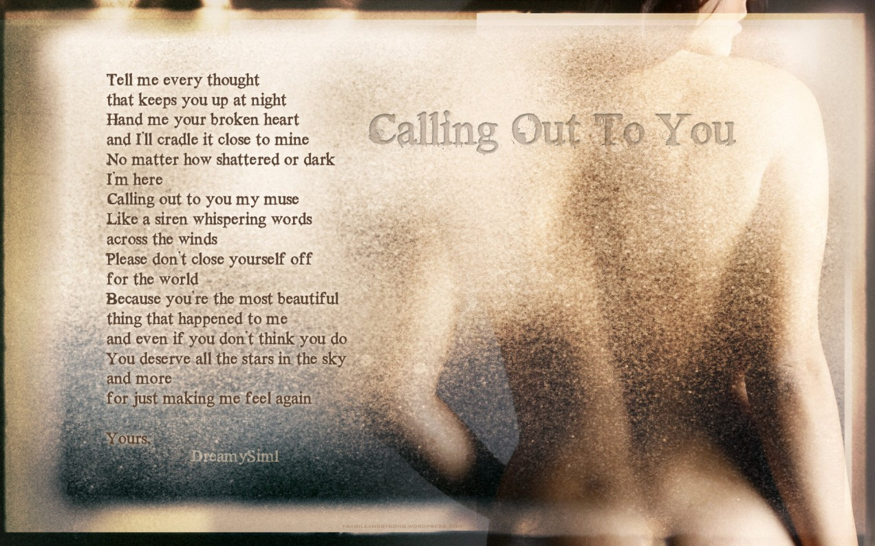 Calling-Out-To-You
